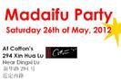 Madaifu Party in Shanghai, May 26 2012