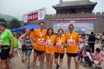May 19th 2012… Great Wall half marathon… they've made it… for the Children of Madaifu!