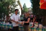 Two school libraries in Gansu