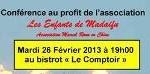 Conférence à Shanghai – Mardi 26 Février 2013