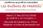 Conférence à Shanghai – Mardi 21 Mai 2013