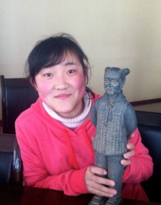 Huiyun et sa statue