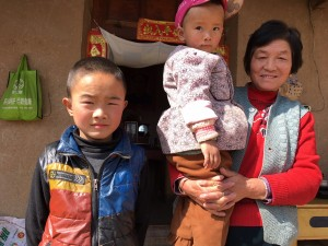 Dong Ze & grandma & cousin 280318