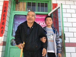 Pan Kaiqi & grandpa 280318