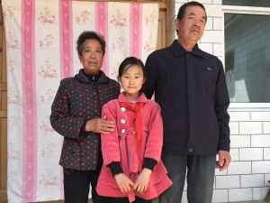 Yang Jiani & grandparents 290318